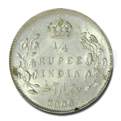 1/4 Rupee | KM# 506,PR.435 | R