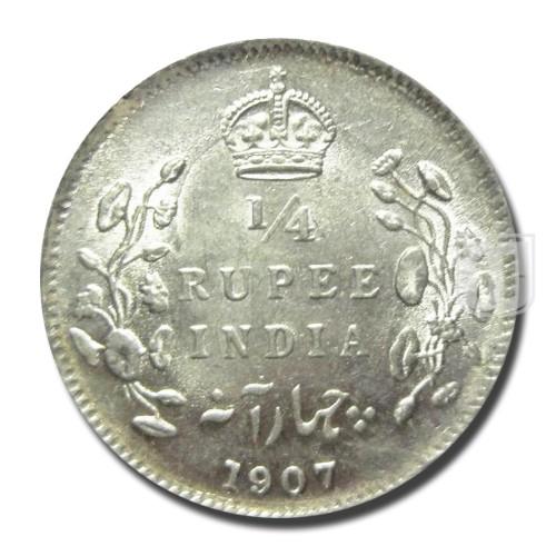 1/4 Rupee | KM# 506,PR.436 | R