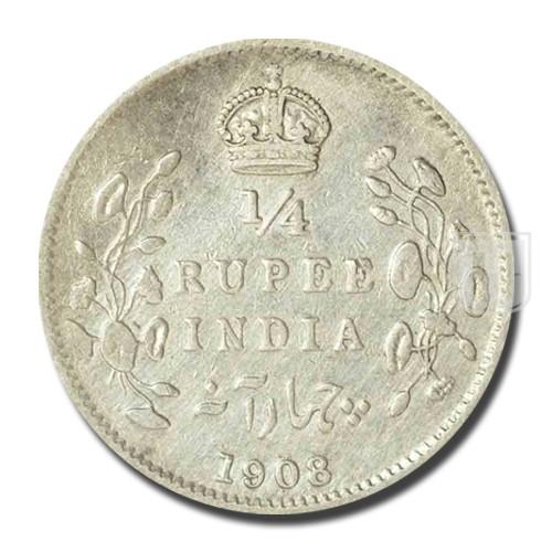 1/4 Rupee | KM# 506,PR.437 | R