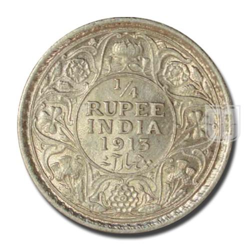 1/4 Rupee | KM# 518,PR.442 | R