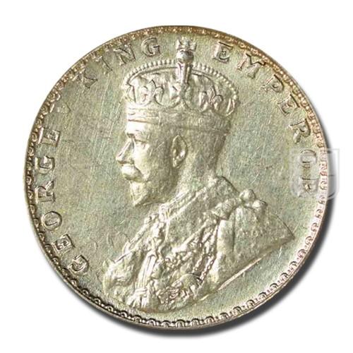 1/4 Rupee | KM# 518,PR.456 | O