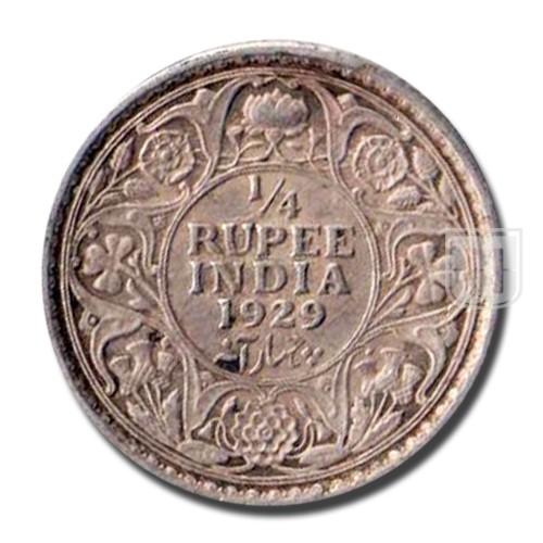 1/4 Rupee | KM# 518,PR.450 | R
