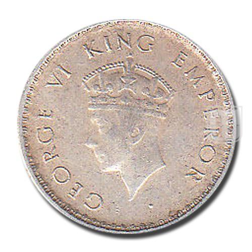 1/4 Rupee | KM# 544,PR.472 | O