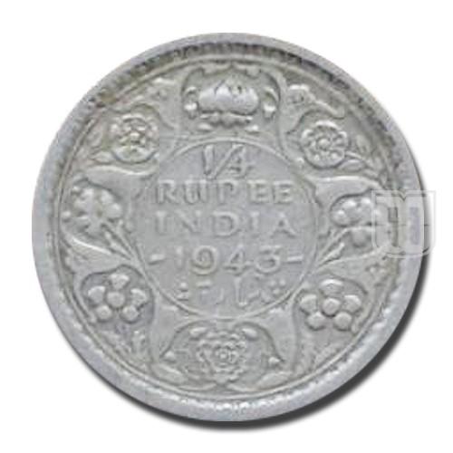 1/4 Rupee   KM# 546,PR.475   R