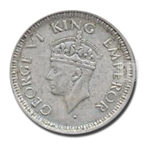 1/4 Rupee | KM# 547,PR.467 | O