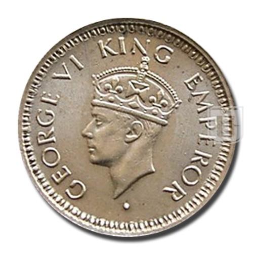1/4 Rupee | KM# 547,PR.470 | O