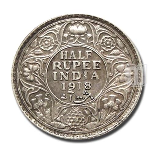 Half Rupee | KM# 522,PR.342 | R