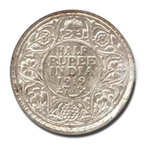Half Rupee | KM# 522,PR.343 | R
