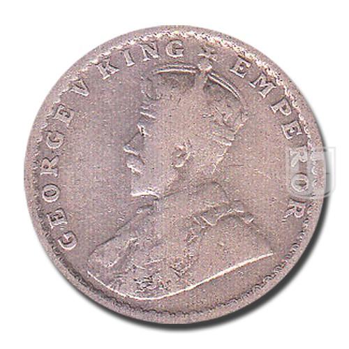 Half Rupee | KM# 522,PR.324 | O