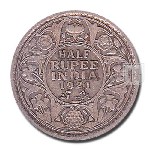 Half Rupee | KM# 522,PR.324 | R