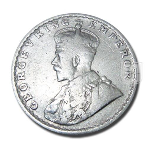 Half Rupee   KM# 522,PR.325   O