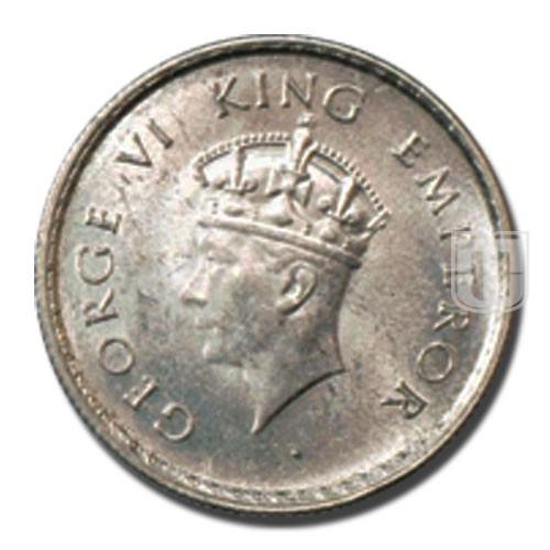 Half Rupee | KM# 549,PR.363 | O