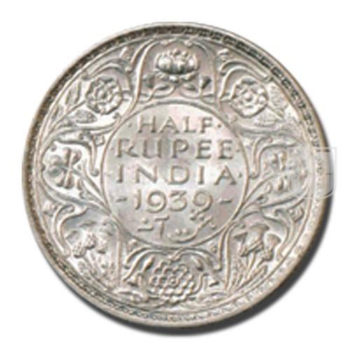 Half Rupee | KM# 549,PR.363 | R