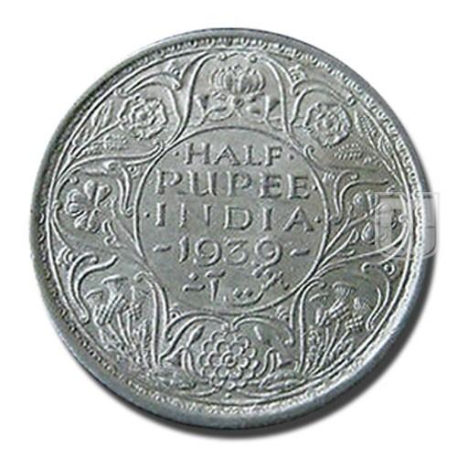 Half Rupee | KM# 549,PR.352 | R