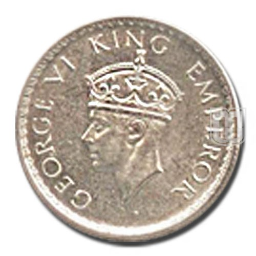Half Rupee | KM# 550,PR.364 | O