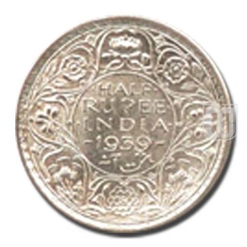 Half Rupee | KM# 550,PR.364 | R
