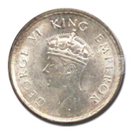 Half Rupee | KM# 550,PR.353 | O
