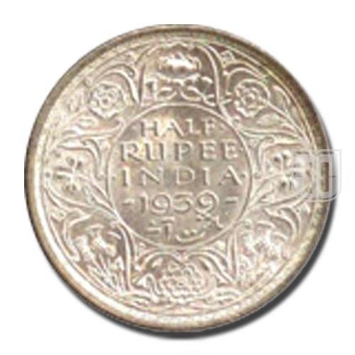 Half Rupee | KM# 550,PR.353 | R