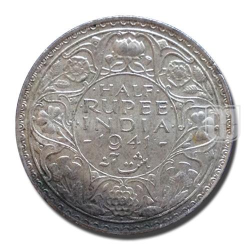Half Rupee | KM# 551,PR.355 | R