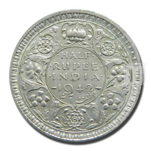 Half Rupee | KM# 551,PR.356 | R
