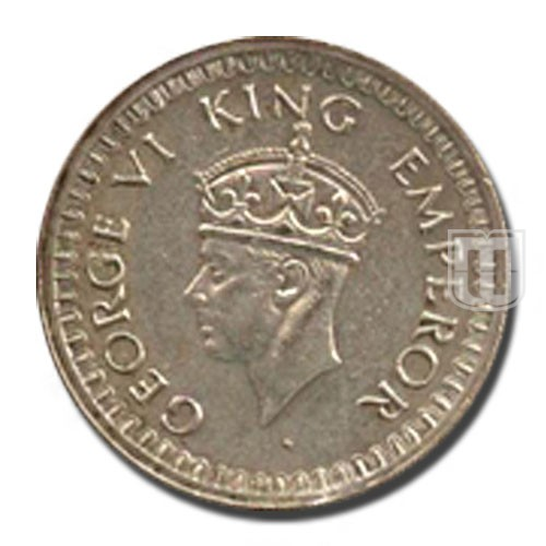 Half Rupee | KM# 552,PR.357 | O
