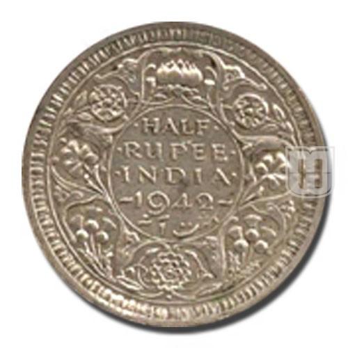 Half Rupee | KM# 552,PR.357 | R