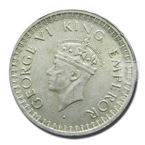 Half Rupee | KM# 552,PR.358 | O