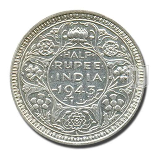 Half Rupee | KM# 552,PR.367 | R