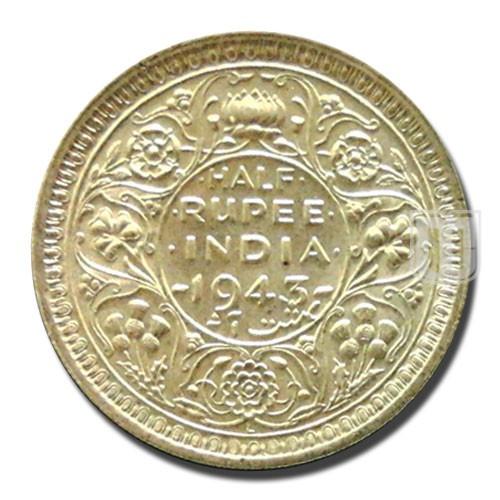 Half Rupee | KM# 552,PR.366 | R