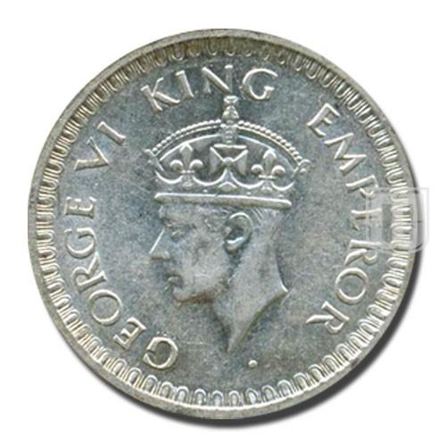 Half Rupee | KM# 552,PR.359 | O