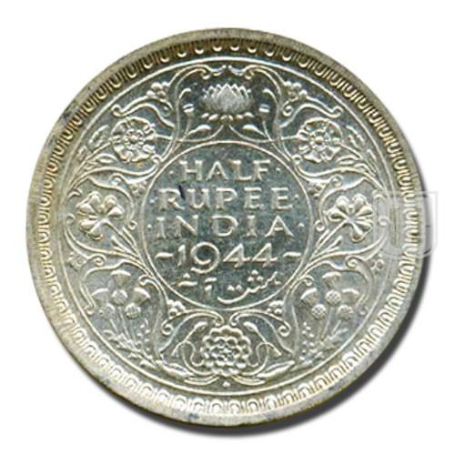 Half Rupee | KM# 552,PR.359 | R