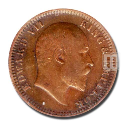 One Quarter Anna | KM# 501,PR.647 | O