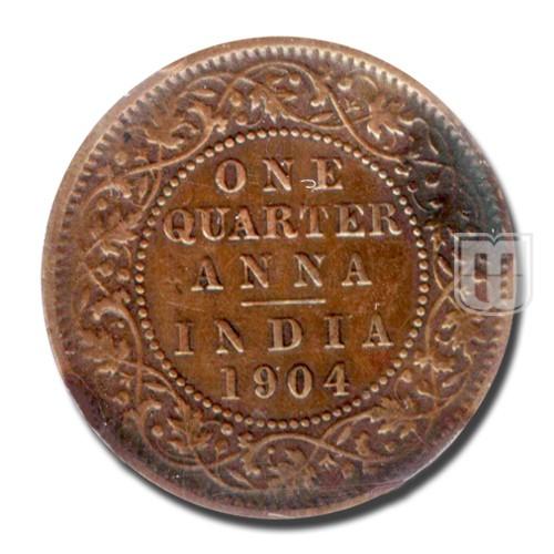 One Quarter Anna | KM# 501,PR.647 | R
