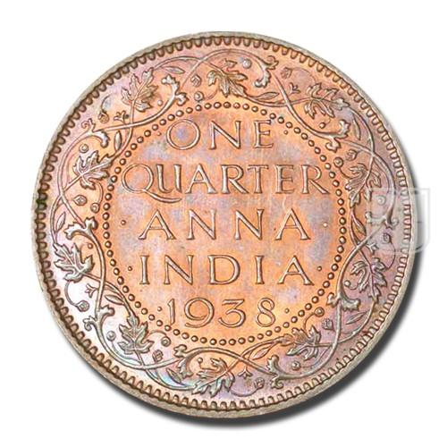 One Quarter Anna | KM# 530,PR.684 | R