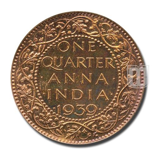 One Quarter Anna | KM# 530 | R