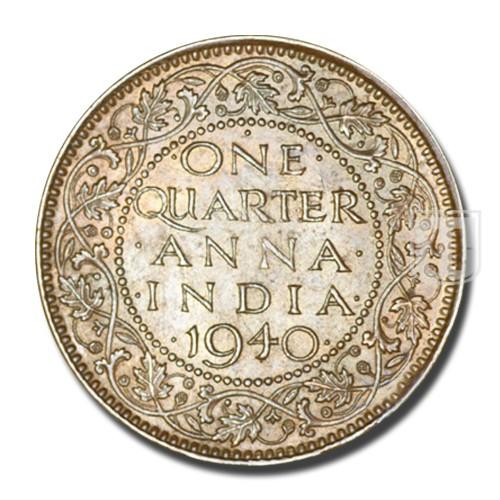One Quarter Anna   KM# 530,PR.691   R