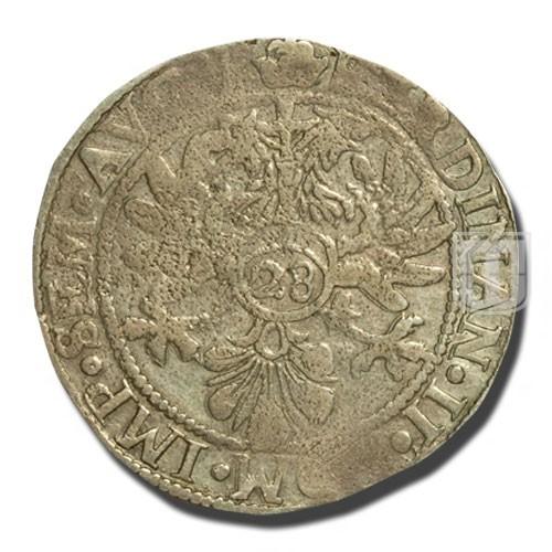 28 STUBER (2/3 Thaler - Gulden) | KM 10.1 | O