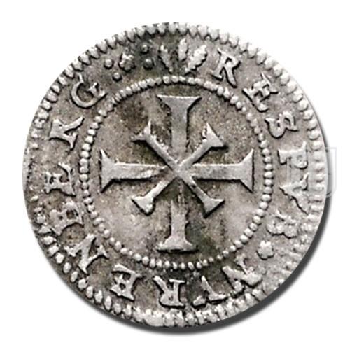 KREUZER (4 Pfennig) | KM 109 | R