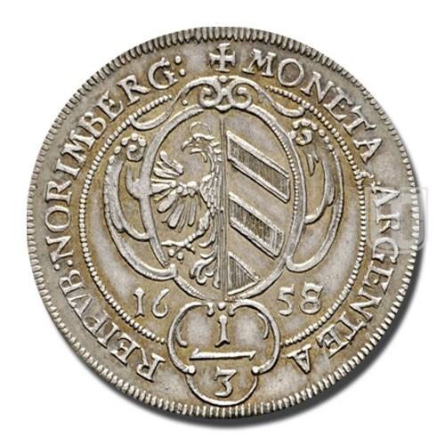 1/3 THALER (1/2 Gulden) | KM 148 | O