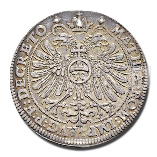 30 KREUZER (1/2 Reichsgulden) | KM 18 | R