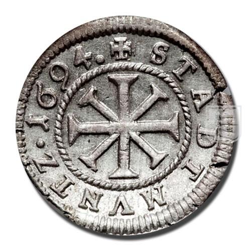 KREUZER (4 Pfennig) | KM 215 | R