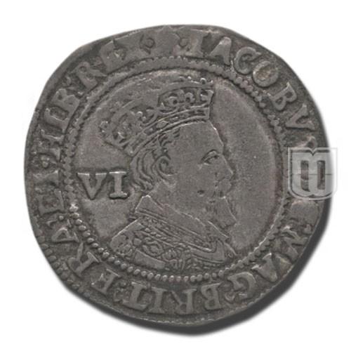 Six Pence | KM  25 | O