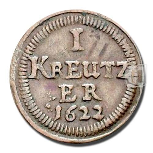 KREUZER (4 Pfennig) | KM 37 | R