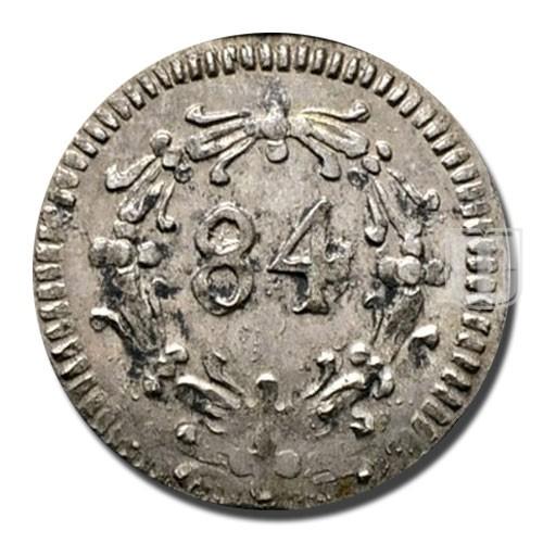 1/84 GULDEN (3 Pfennig)   KM 46   R