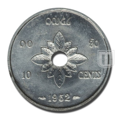 10 Cents | KM 4 | R