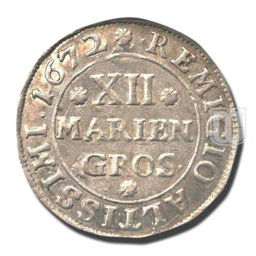 12 MARIENGROSCHEN (1/3 Thaler) | KM 504 | R