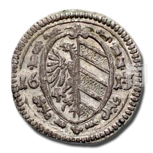 3 PFENNIG (1/84 Gulden) | KM 6 | O