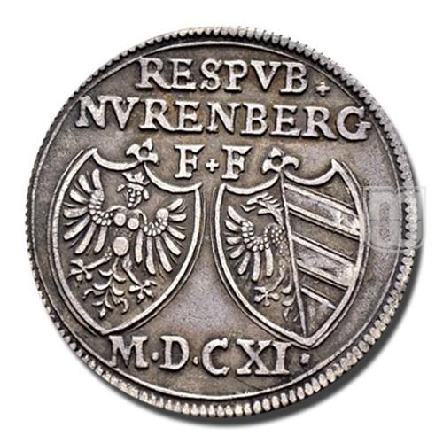 30 KREUZER (1/2 Reichsgulden) | KM 7 | O