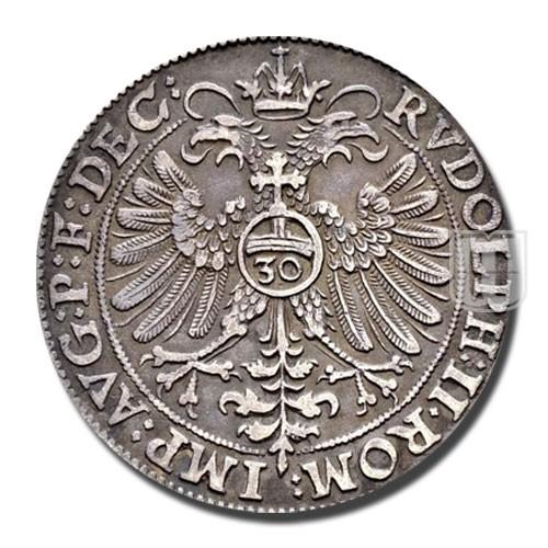 30 KREUZER (1/2 Reichsgulden) | KM 7 | R