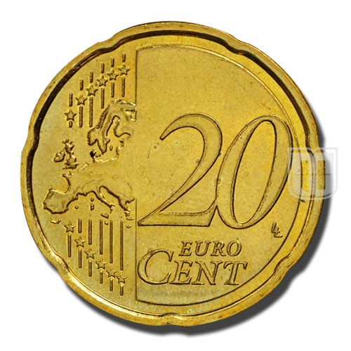 20 Euro Cents | KM 82 | R